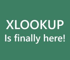 Dynamic Array – XLOOKUP
